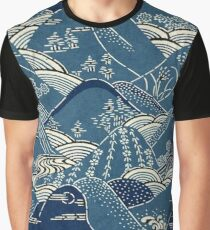 Oriental Mountains Graphic T-Shirt