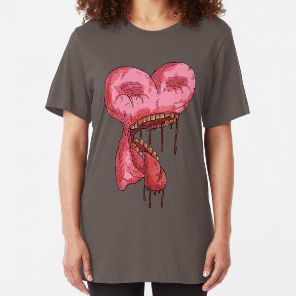 brokenhearted 4... Slim Fit T-Shirt