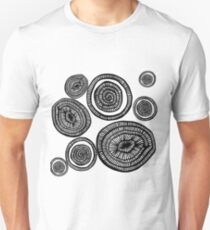circle pattern Unisex T-Shirt