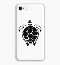 Black Sea Tortoise Shell iPhone Case/Skin