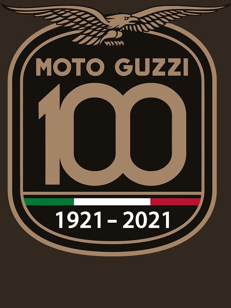 Anniversary 100th Moto Guzzi Yeahh by dennmpbell