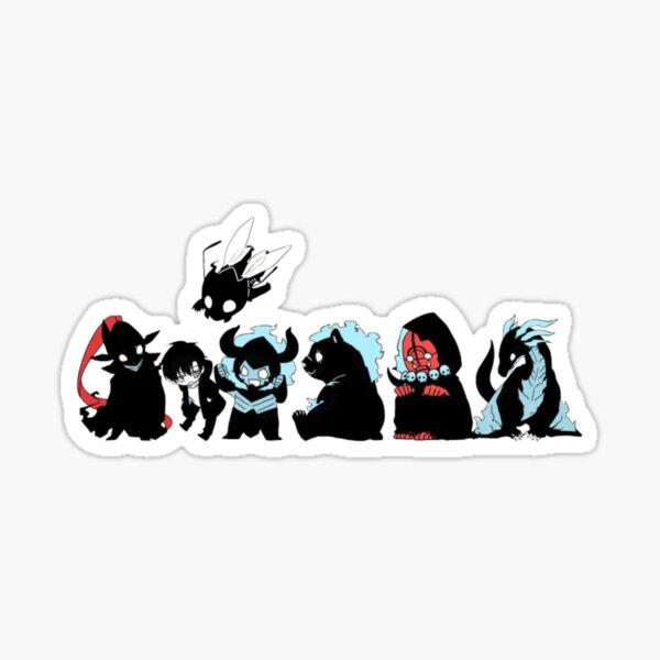 Solo Leveling - All Team Chibi Design Sticker