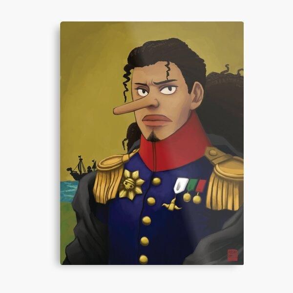 Admiral Usopp Metal Print