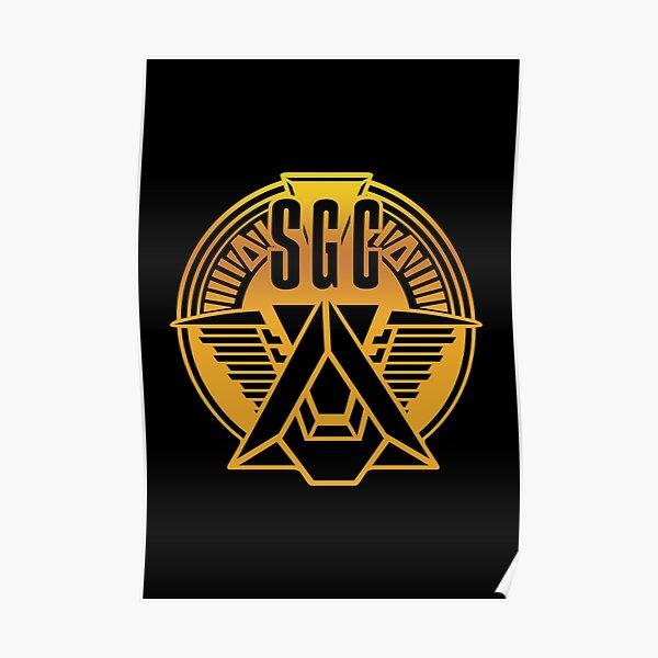Stargate SGC Gold Poster