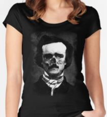 Edgar Poe  Women's Fitted Scoop T-Shirt