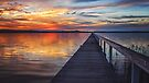 Sunset at Long Jetty by yolanda
