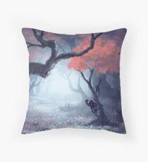 Kodama The Tree Hugger Throw Pillow