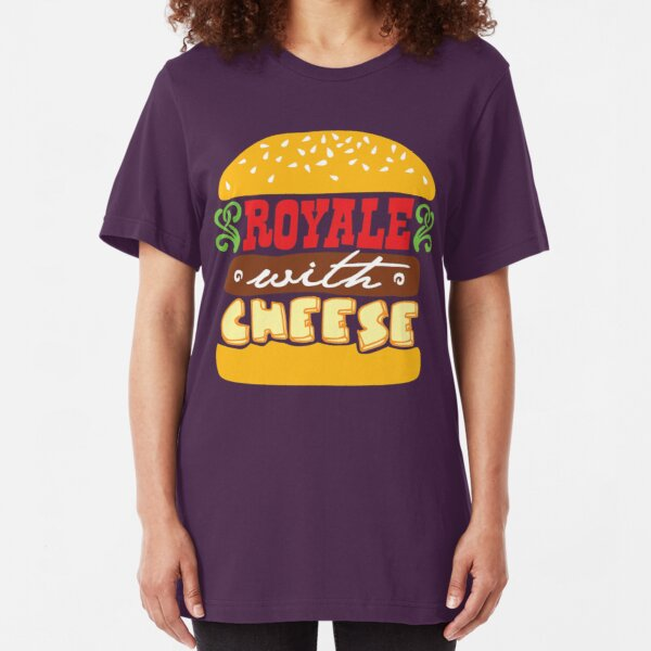 Pulp Fiction - Royale with cheese Slim Fit T-Shirt
