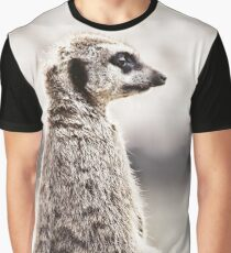 Meerkat Lookout Graphic T-Shirt