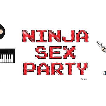 Chibi Ninja Sex Party by queennekoyasha