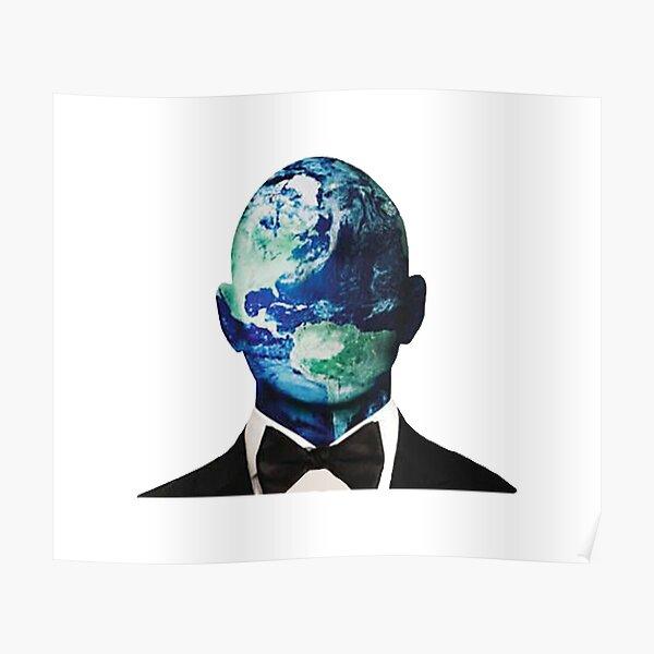 Mr Worldwide es tierra Póster