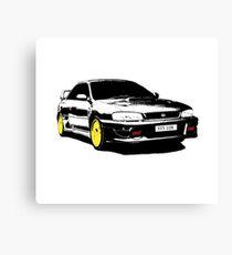 Subaru STI 22B - Ver. 2.0 Canvas Print