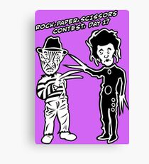 Ec & Fred Scissors Contest Canvas Print