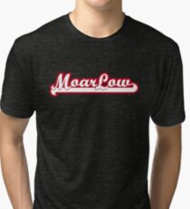 MoarLow (red) Tri-blend T-Shirt