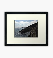 Ballycotton Rocks, Co. Cork, Ireland Framed Print