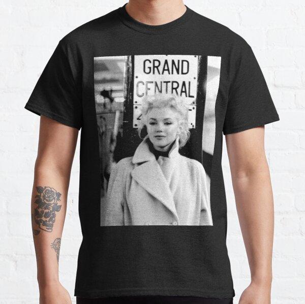 Marilyn Monroe Grand Central Camiseta clásica