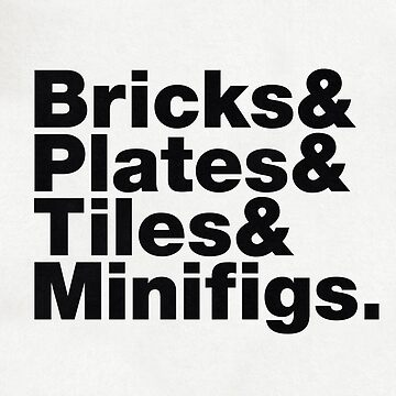 Brick Steez: Bricks&... (On Light Colors) by bricksomething