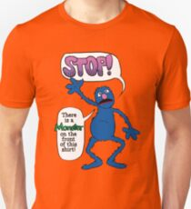 Monster on the Front of the Shirt Unisex T-Shirt