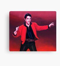 Elvis Presley 4 Painting Canvas Print