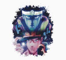 JoJo's Bizarre Adventure Jotaro Kujo/Star Platinum Version 2 | Unisex T-Shirt