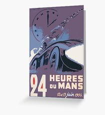 LeMans 54 Greeting Card