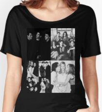 Friends Black&White Women's Relaxed Fit T-Shirt