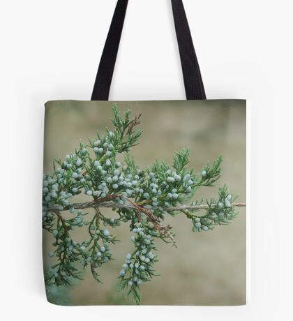 Junniper Berries Tote Bag