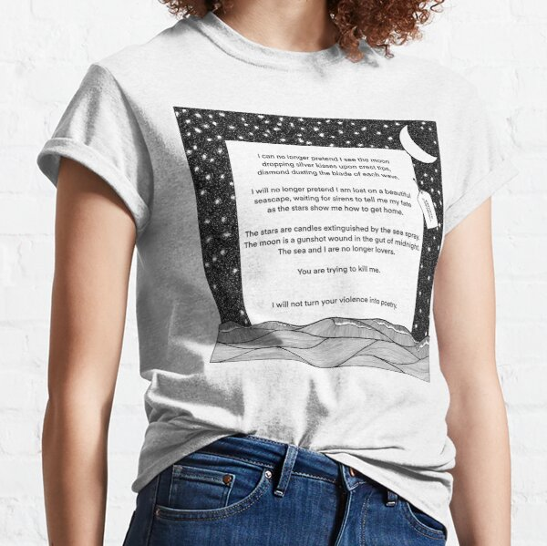 Austere Beauty Extract by Kathryn O'Driscoll Classic T-Shirt