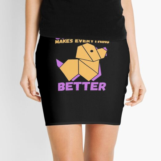 Crafting Makes Everything Better Mini Skirt