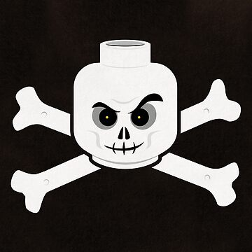 Brick Steez: Skull & Crossbones by bricksomething