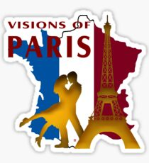 Visions Of Paris Sticker