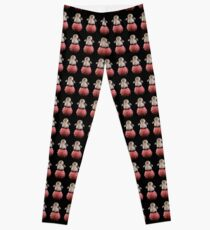 Frenchie the Penguin Leggings