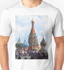 Saint Basil's Cathedral - Red Square - Moscow Unisex T-Shirt