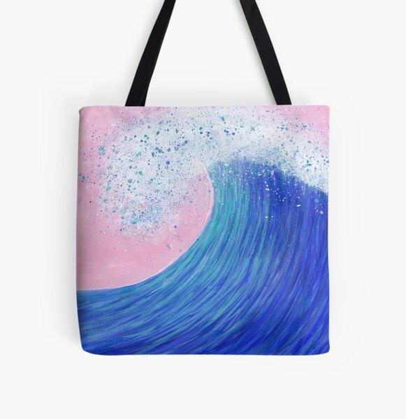 Big wave II All Over Print Tote Bag