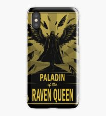 Paladin of the Raven Queen iPhone Case
