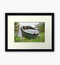 old Fishing Boat Framed Print