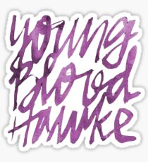 Youngblood Hawke PINK Sticker