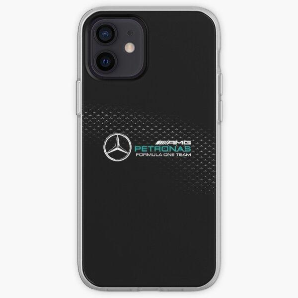 Voiture de Formule 1 Mercedes AMG F1 2021 race desing Coque souple iPhone