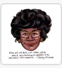 Shirley Chisholm Sticker