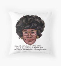 Shirley Chisholm Throw Pillow