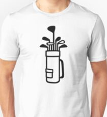 Camiseta unisex Bolsa de golf