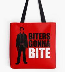 Biters Gonna Bite Tote Bag