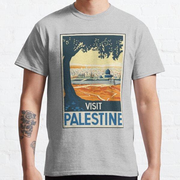 Vintage Travel Poster Visit Palestine Classic T-Shirt