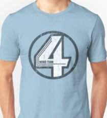 Fantastic 4 News Team T-Shirt