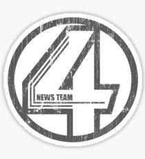 Fantastic 4 News Team Sticker