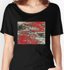 Angry abstract drawing Women's Relaxed Fit T-Shirt