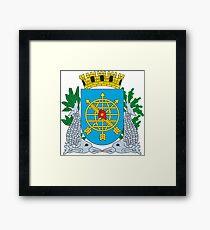 Coat of Arms of Rio de Janeiro Framed Print