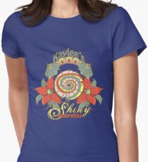 Kaylee's Shiny Umbrellas Womens Fitted T-Shirt