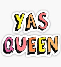 Yas Queen Sticker