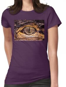 American Alligator, closer & in color Womens Fitted T-Shirt